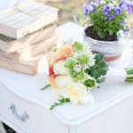 Outdoor ceremony styliing
