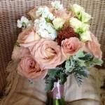 Romantic Bouquet earthy tones