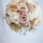 Soft Honeymoon Roses, Stocks, Cream Spray Roses
